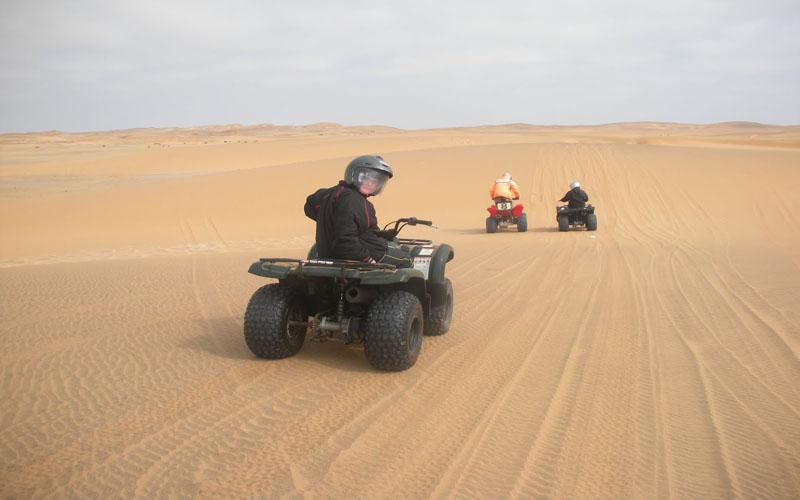 Sahara Relax: Desert Day Trip Quad