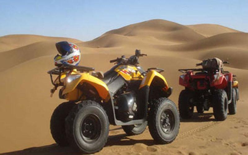 Quad bike Desert Tour in Zagora - Erg Lihoudi and Chegaga
