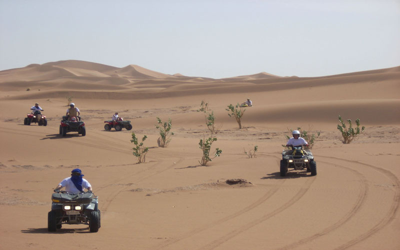 Sahara Relax: Quad bike and Buggy in the desert