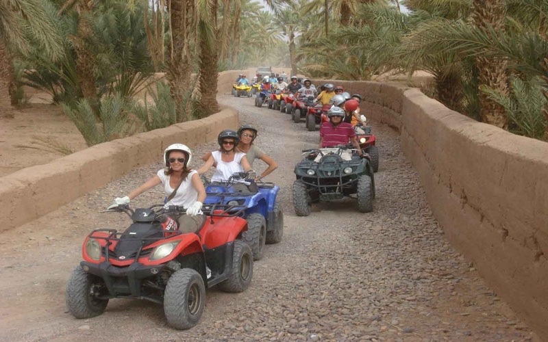 Quad Biking in Draa valley - Zagora and M'hamid