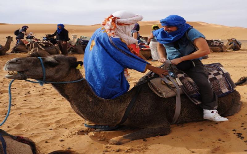 Camel Ride in Zagora