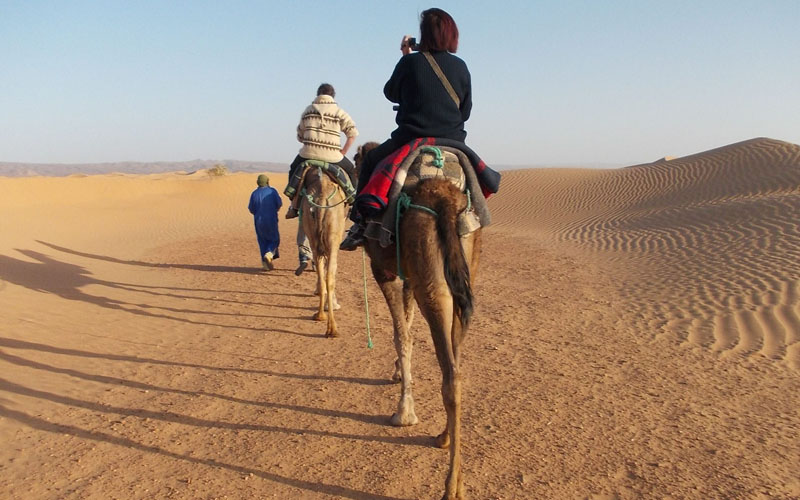 1 day and a night in the desert of Zagora - zagora desert tour