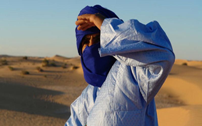 Peuple Touareg and Berbere of the Morocco Sahara Desert